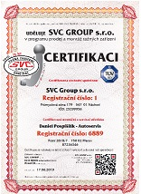 Certifikát tažná zařízení